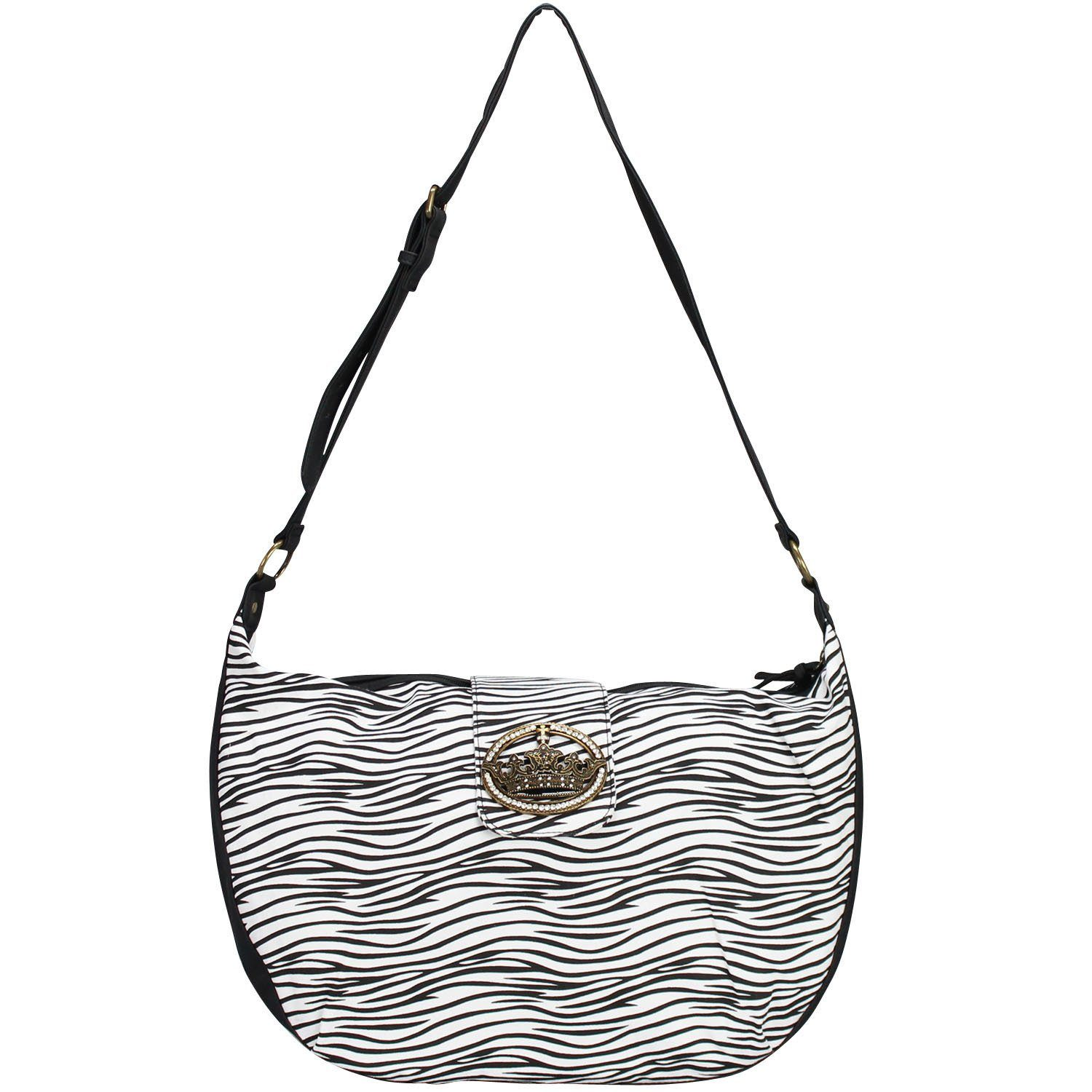 Friis & Company Classics Vol. 1402 Zebra Everyday Big Bag Umhängetasche 52 cm